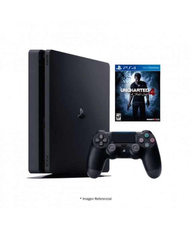 PlayStation 4, PS4 Slim 500gb Uncharted 4