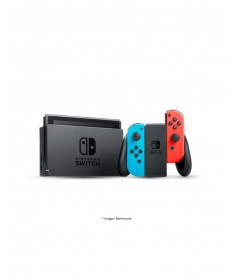 Nintendo Switch neon blue and red Joy Con, New