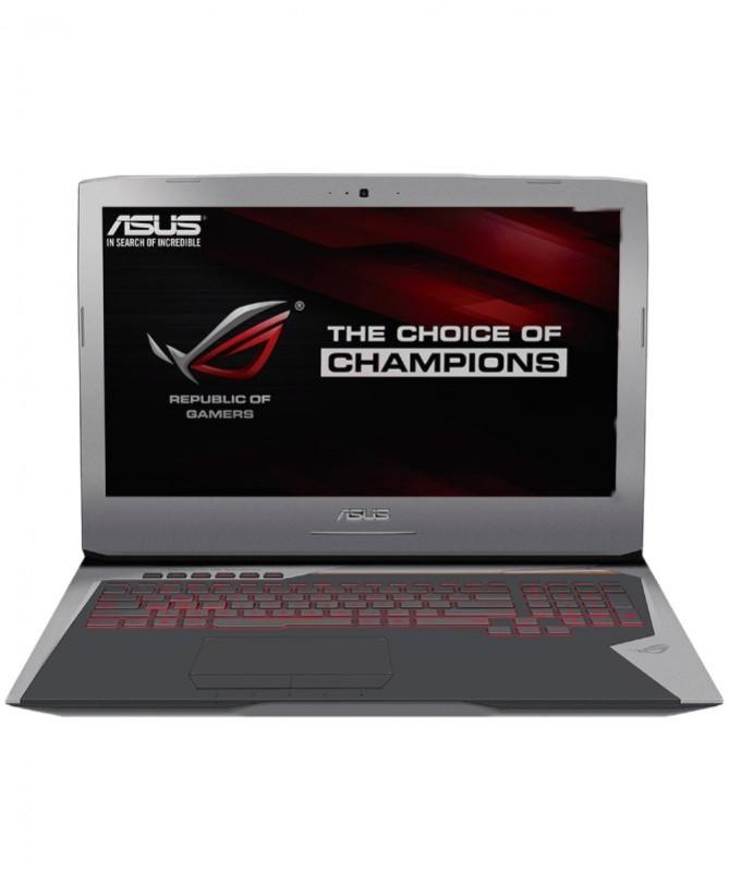 ASUS ROG GAMING G752VS-Q72S CORE I7, 32GB, 1TB, 256GB SSD, GTX1070 8GB