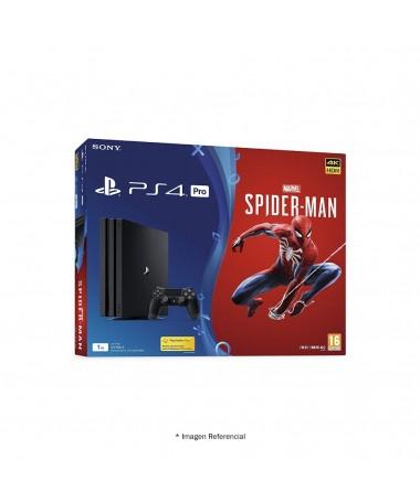 Play Station 4 Pro 1tb Ps4 + Marvel Spider-man