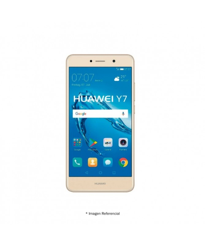 """Huawei Y7 LX3DS 4G 5.5 """"Cell Phone 100% New, 2gb ram, 16gb, 12, mpx,"""
