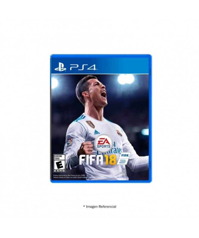 Physical Game Fifa 2018 Play Station 4 New