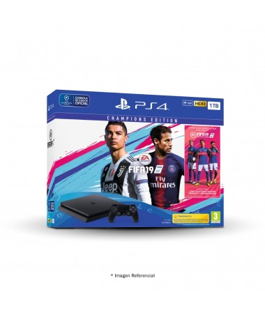 Console Sony Play Station PS4 1TB Fifa 19 Champions